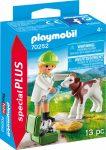 Playmobil Special Plus 70252 Állatorvos borjúval