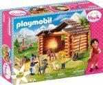 Playmobil Heidi 70255 Péter kecske farmja