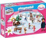 Playmobil Heidi 70260 Adventi naptár Heidi téli világa