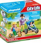 Playmobil City Life 70284 Anya két gyerekével