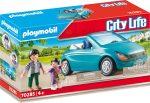 Playmobil City Life 70285 Apa kislányával kabrióban