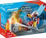 Playmobil City Action 70291 Tűzoltó ajándék szett