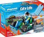 Playmobil City Life 70292 Gokart verseny ajándék szett