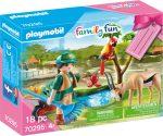 Playmobil Family Fun 70295 Állatkert ajándék szett