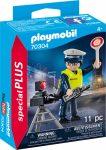 Playmobil Special Plus 70304 Rendőr sebességmérővel