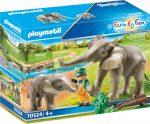 Playmobil Family Fun 70324 Elefántok a szabadban