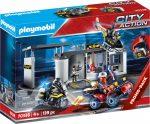 Playmobil City Action 70338 Hordozható SWAT központ