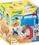 Playmobil 1.2.3 70340 Kreatív homokozó vár