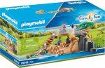 Playmobil Family Fun 70343 Oroszlánok a hídnál