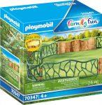 Playmobil Family Fun 70347 Állatkerti kerítés