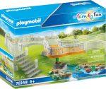 Playmobil Family Fun 70348 Állatkert kiegészítő készlet