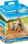 Playmobil Family Fun 70349 Szurikáta család