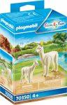 Playmobil Family Fun 70350 Alpaka kicsinyével