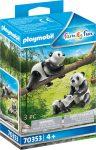 Playmobil Family Fun 70353 Panda család