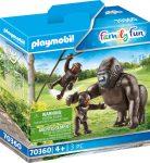 Playmobil Family Fun 70360 Gorilla kicsinyeivel