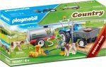 Playmobil Country 70367 Traktor víztartállyal