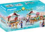 Playmobil Spirit Riding Free 70395 Karácsony Miraderoban