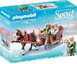 Playmobil Spirit Riding Free 70397 Téli szánkózás