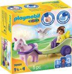 Playmobil 1.2.3 70401 Tündér egyszervúval és hintóval