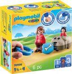 Playmobil 1.2.3 70406 Húzható kutyus