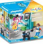 Playmobil Family Fun 70439 Turista bankautomatával