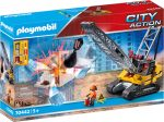 Playmobil City Action 70442 Lánctalpas markoló
