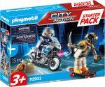 Playmobil City Action 70502 Rendőrség kiegészítő készlet