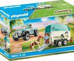 Playmobil Country 70511 Terepjáró póniló szállító pótkocsival