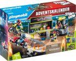 Playmobil Kiegészítők 70544 Óriás adventi naptár - Kaszkadőr show