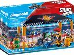 Playmobil Stunt Show 70552 Szervizsátor