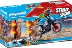 Playmobil Stunt Show 70553 Motos tüzes fallal
