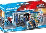 Playmobil City Action 70568 Rendőrség: Menekülés a börtönből