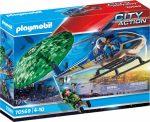 Playmobil City Action 70569 Rendőrségi helikopter: Ejtőernyős-üldözés