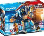 Playmobil City Action 70571 Rendőrrobot bevetésen