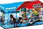 Playmobil City Action 70572 Motoros rendőr bevetésen
