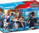 Playmobil City Action 70573 Rendőrségi bicikli: Zsebtolvaj nyomában
