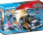 Playmobil City Action 70575 Rendőrségi helikopter: Menekülő autós nyomában
