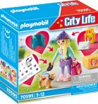 Playmobil City Life 70595 Divatrajongó kiskutyával