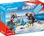 Playmobil Family Fun 70606 Jéghorgász ajándék készlet