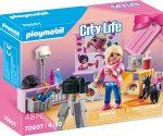 Playmobil City Life 70607 Influenszer ajándék készlet