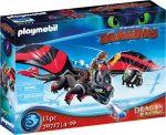 Playmobil Dragons 70727 Dragon racing - Hablaty és Fogatlan