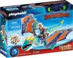 Playmobil Dragons 70728 Dragon racing - Astrid és Viharbogár