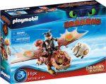 Playmobil Dragons 70729 Dragon racing - Halvér és Bütyök
