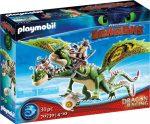 Playmobil Dragon 70730 Dragon Racing - Kőfej és Fafej Töffel és Böffel