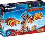 Playmobil Dragons 70731 Dragon Racing - Takonypóc és Kampó