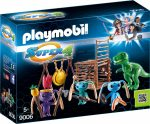 Playmobil Super 4 9006 Földönkívüli harcosok T-Rex csapdával