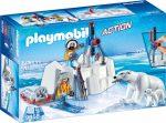 Playmobil Action 9056 Sarkvidéki felfedező jegesmedvével