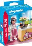 Playmobil Special Plus 9097 Cukrászlány süteményes pulttal