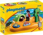 Playmobil 1.2.3 9119 Kalóz sziget