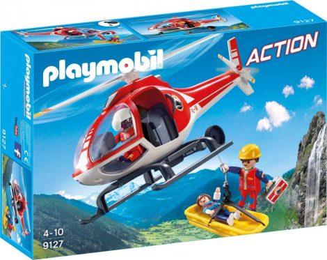 Playmobil Action 9127 Hegyimentő helikopter